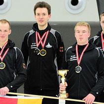 Eisstock WM 2014 Junioren U23 | Mannschaft Ziel Deutschland