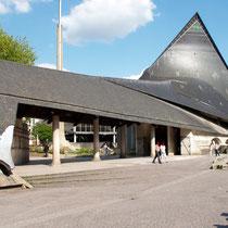 Die Kirche, die Jean d'Arc gewidmet ist