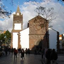 """Die Kathedrale """"Se"""" in Funchal"""