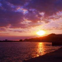 Sonnenuntergang in Funchal