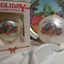 メトロ・ゴールドウィン・メイヤー ホリデーグラスボール アメリカ産  ¥1,080-