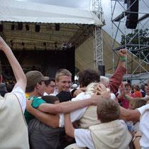 Bagad Pagan - Concours 5ème catégorie - Carhaix - 2008