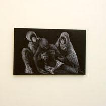 Deposizione, 2015, olio su tela / oil on canvas, cm 75 x 120