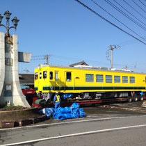 1月22日大多喜駅に到着