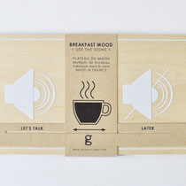MORNING TRAY < BREAKFAST MOOD - USE THE SIGNS COLLECTION