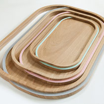 TRAYS LISERE COLLECTION - made in MAYENNE * 110 to 135 euros