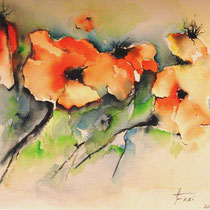 "ART HFrei - ""Madeira-Mohn"" - Aquarell - 2012"