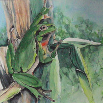 "ART HFrei - ""Willi"" - Aquarell - 2013"