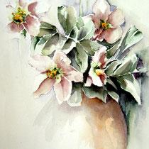 "ART HFrei - ""Blumengruß"" - Aquarell - 2005"