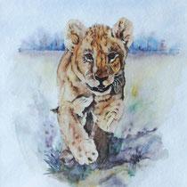 "ART HFrei- ""Tiger"" - Aquarell - 2003"