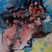 """ART HFrei - """"Von Angesicht zu Angesicht"""" - Aquarell - 2011"""