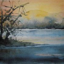 "ART HFrei - ""Am See"" - Aquarell - 2008"