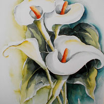 "ART HFrei - ""Calla"" - Aquarell - 2007"
