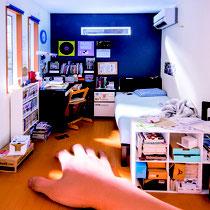 mozustudios_ミニチュア_友達の部屋