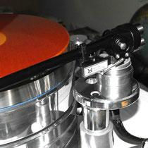 Acoustic Solid Small Machine Plattenteller und Tonarmtuning