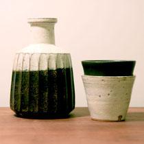 水差しセット(水差し、カップ2個)