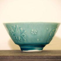 茶碗:レリーフ