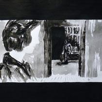 2'52'32 - Encre de Chine, lavis sur papier (200g) - 50 x 65 cm - 2019