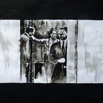 2'53'01 - Encre de Chine, lavis sur papier (200g) - 50 x 65 cm - 2019
