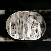 21'41 - Encre de Chine, lavis sur papier (200g) - 50 x 65 cm - 2021