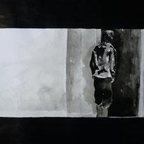 1'33'00 - Encre de Chine, lavis sur papier (200g) - 50 x 65 cm - 2019