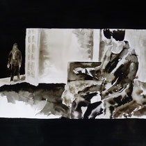 53'33 - Encre de Chine, lavis sur papier (200g) - 50 x 65 cm - 2019