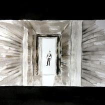 59'08 - Encre de Chine, lavis sur papier (200g) - 50 x 65 cm - 2020