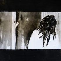 1'14'16 - Encre de Chine, lavis sur papier (200g) - 50 x 65 cm - 2019