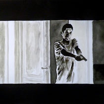 1'31'16 - Encre de Chine, lavis sur papier (200g) - 50 x 65 cm - 2019