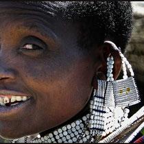 Massai, Tansania, Frau, Afrika