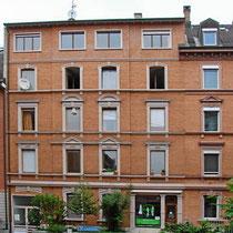 Fassade Mehrfamilienhaus Basel
