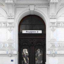 Außenfassade der Praxis Hamburg-Rotherbaum im Beraterwerk Hamburg, Rappstr. 2