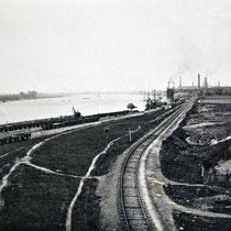 Hafenansicht, Quelle: Stadtarchiv Duisburg, vor 1900