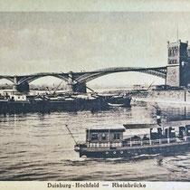 Hafeneinfahrt mit Schiffsverkehr. Quelle: Archiv Kuhlen