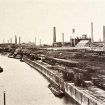 Hafenansicht, Quelle: Stadtarchiv Duisburg, um 1890