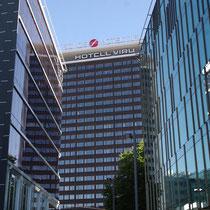 L'hôtel Viru, dont les derniers étages étaient réservés au KGB espionnant les étrangers