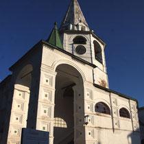 L'entrée et le clocher
