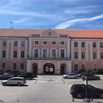 Le château qui abrite le Parlement estonien