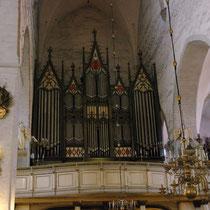 L'orgue de la cathédrale de l a Vierge Marie
