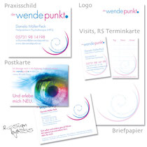 Logo, Briefpapier, Visits, Karte, Schild, Website …