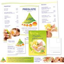 Logo, Visit, Postkarte, Preisliste, Inserate, Website …