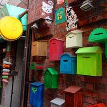 letter boxes