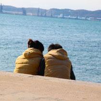 Partnerlook-Zweisamkeit