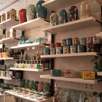 beautiful ceramic shop