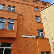 08/2020 Kletterwand im KHZ jetzt saniert