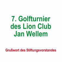 7. Golfturnier des Lion Club Jan Wellem 2019