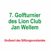 7. Golfturnier des Lion Club Jan Wellem 2019