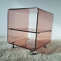 Chevet plexiglas vintage années 70