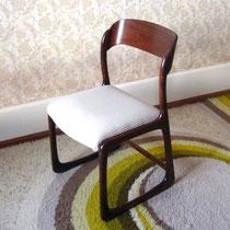 6 chaises traîneau Baumann