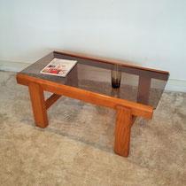Table basse années 70